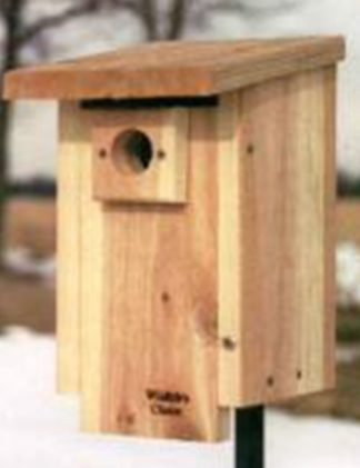 Bluebird nesting box for sale through Clark SWCD